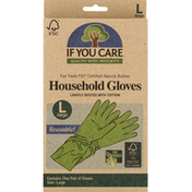 If You Care Household Gloves, Large