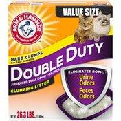 Arm & Hammer Double Duty Clumping Litter, 26.