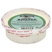 All Natural Cream Cheese Spread, Low Fat, Whipped, Chives