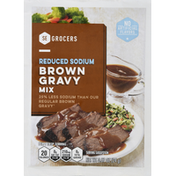 Southeastern Grocers Gravy Mix, Brown, Reduced Sodium