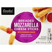 Essential Everyday Cheese Sticks, Mozzarella, Breaded