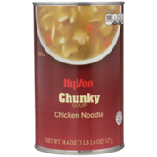Hy-Vee Chicken Noodle Chunky Soup