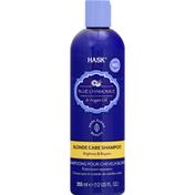 HASK Shampoo, Blond Care, Blue Chamomile & Argan Oil