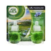 Air Wick Yellowstone Wildflower Valley Fragrance Scented Oil - 2 PK
