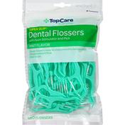 TopCare Dental Flossers, Mint Flavor, Super Slip