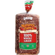 Nature's Own Specialty 100% Whole Grain Nature's Own Specialty Grain Bread