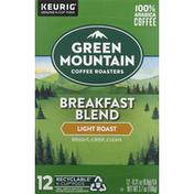 Green Mountain Coffee Coffee, Light Roast, Breakfast Blend, K-Cup Pods