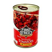First Street Diced Fire Roasted Tomatoes With Seasonings