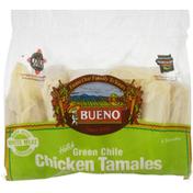 Bueno Tamales, Chicken, Green Chile