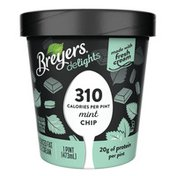 Breyers Reduced Fat Ice Cream Mint Chip