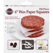 Norpro Wax Paper Squares, 6 Inch