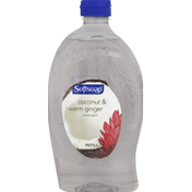 Softsoap Hand Soap, Coconut & Warm Ginger, Refill