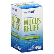 Health A2Z Mucus Relief, Immediate Release, Tablets
