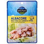 Wild Planet Albacore Wild Tuna With Lemon & Thyme Single-Serve Pouch