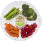 Ahold Vegetable Platter, with Dip