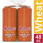 Mother's Split Top Wheat Bread Two Pack