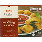 Hy-Vee Ravioli, Toasted, Breaded, Meat