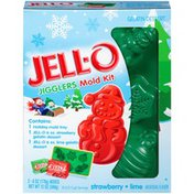 Jell-O Jigglers Holiday Mold Kit with Strawberry and Lime