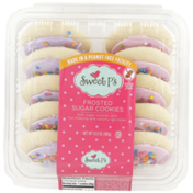 Sweet P's Frosted Spring Lavender/Pink Sugar Cookies
