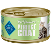 Blue Buffalo True Solutions Perfect Coat Natural Skin & Coat Care Adult Wet Cat Food, Whitefish