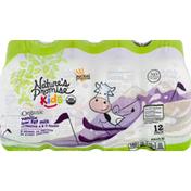 Nature's Promise Milk, Organic, Low Fat, Vanilla, 12 Pack