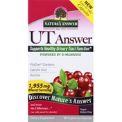 Nature's Answer Herbal Supplement With D Mannose Capsules