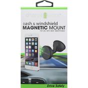 Chargeworx Dash & Windshield Mount, Magnetic