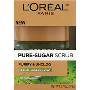 L'Oreal Scrub, Pure-Sugar, for Face and Lips