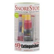 SnoreStop Throat Spray Extinguisher One Month Supply