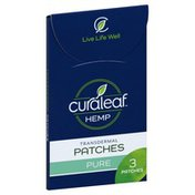 Curaleaf Hemp, Pure, Transdermal Patches