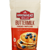 Arrowhead Mills Pancake & Waffle Mix, Buttermilk