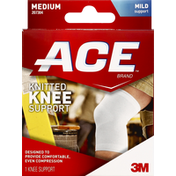 Ace Bakery Knee Support, Knitted, Mild Support, Medium