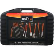 Mr Bar B Q Barbecue Tool Set, 18 Piece