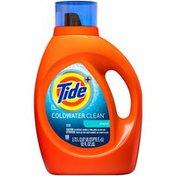 Tide Coldwater Clean Liquid Laundry Detergent, Fresh Scent, 92 oz., 59 loads
