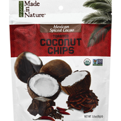 Made in Nature Toasted Coconut Chips, Mexican Spiced Cacao