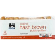 Food Lion Hash Brown, Original, Shrink Wrapped