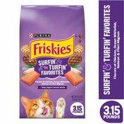 Purina Friskies Dry Cat Food, Surfin' & Turfin' Favorites