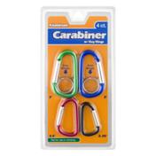 Items 4 U ! Aluminum Carabiner w/ Key Rings