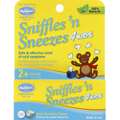 Hyland's Cold Medicine, Sniffles 'N Sneezes, Curious George, Tablets