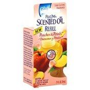 Glade Oil Refills, Scented, Peaches & Petals