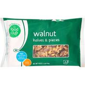 Food Club Walnut Halves & Pieces
