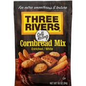 Three Rivers Cornbread Mix, Self Rising, Enriched / White