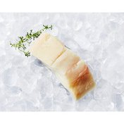 Raw Previously Frozen Halibut Fillet