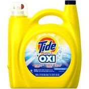 Tide Simply Plus Oxi Liquid Laundry Detergent, Refreshing Breeze, 225 oz., 146 loads