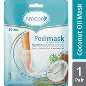 Amope® Pedimask Foot Sock Mask, Coconut Oil Essence
