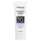 TopCare Ultimate Sheer Water Resistant Uva/Uvb Broad Spectrum Spf 70 Sunscreen Lotion