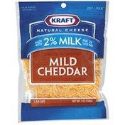 Kraft Mild Cheddar Reduced Fat W/Added Calcium Made W/2% Milk Shredded Cheese