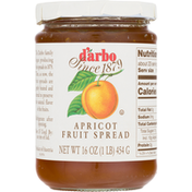 D'arbo Fruit Spread, Apricot