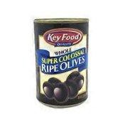 Key Food Whole Super Colossal Ripe Olives