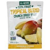 Sensible Foods Crunch Dried Fruit, 100% Fruit, Tropical Blend